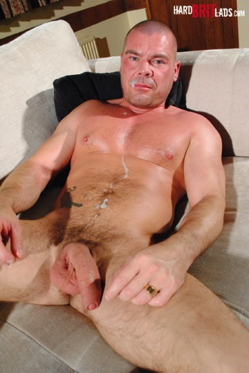Beefy uncut daddy cock
