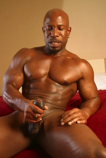 Bound muscle big men black